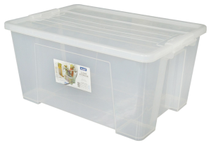 Clear Storage Containers L