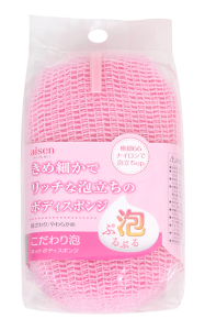 Aisen Commitment Foam Net Body Sponge